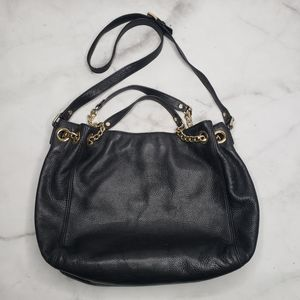 Michael Kors convertible leather purse